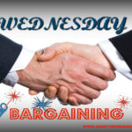 Wednesday – Bargaining