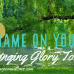 NO Shame On You: Bringing Glory To God